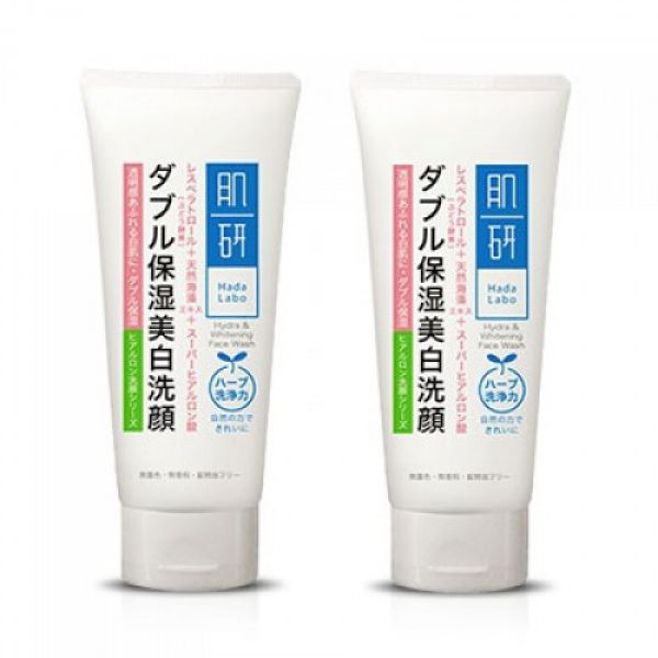 Hada Labo Smooth & Brightening Face Wash 120мл