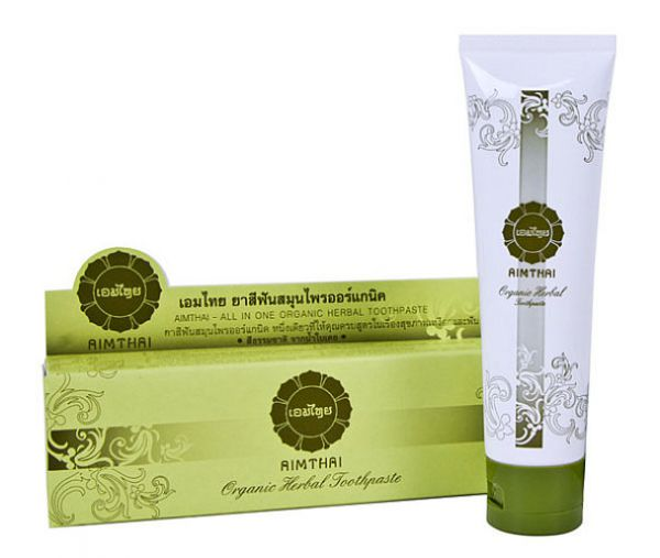 AIMTHAI Organic Herbal Toothpaste ALL IN ONE 20г
