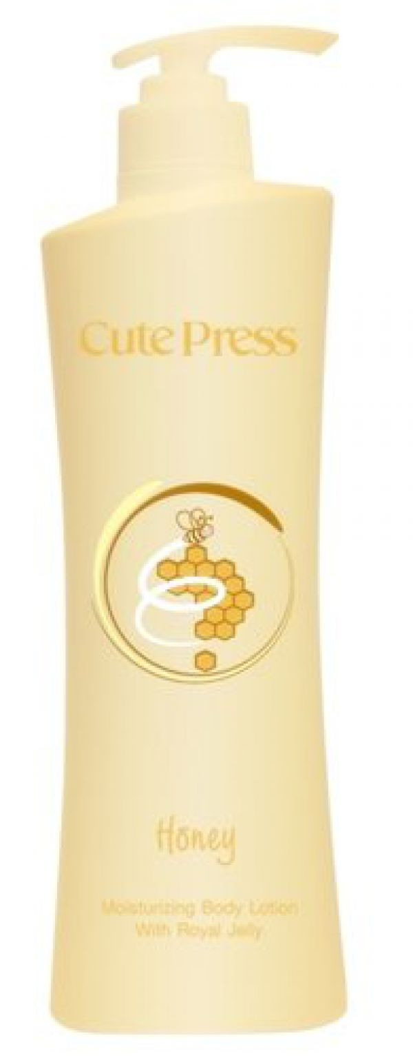 Cute Press Honey  Body Lotion with Royal Jelly  500 ml