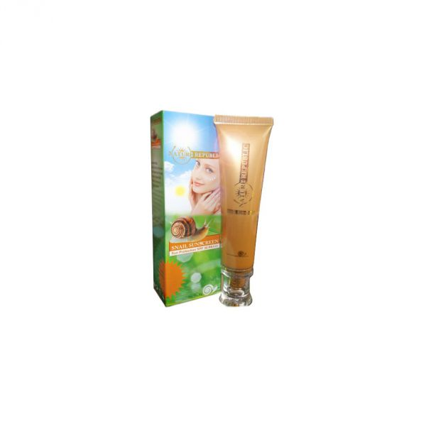 Natur Repablic Snail Sunscreen SPF30  30г