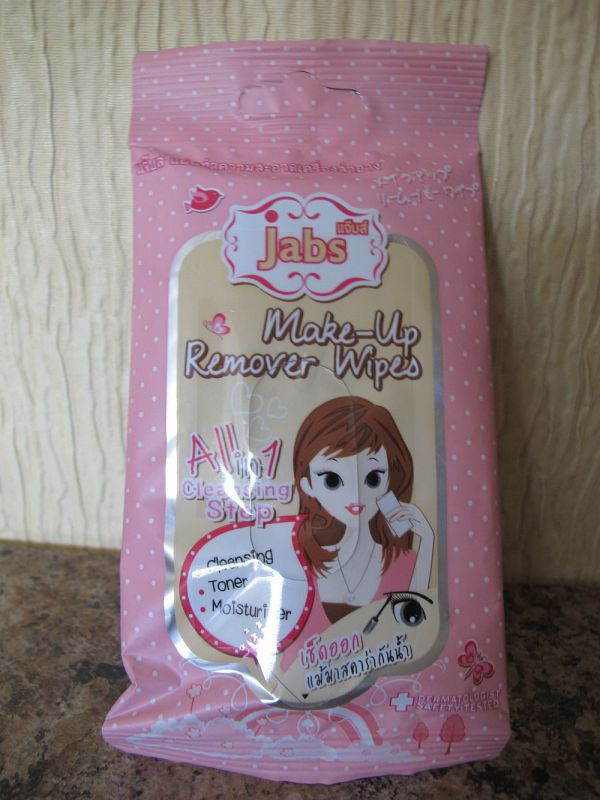 Jabs Make-up-remover Wipes