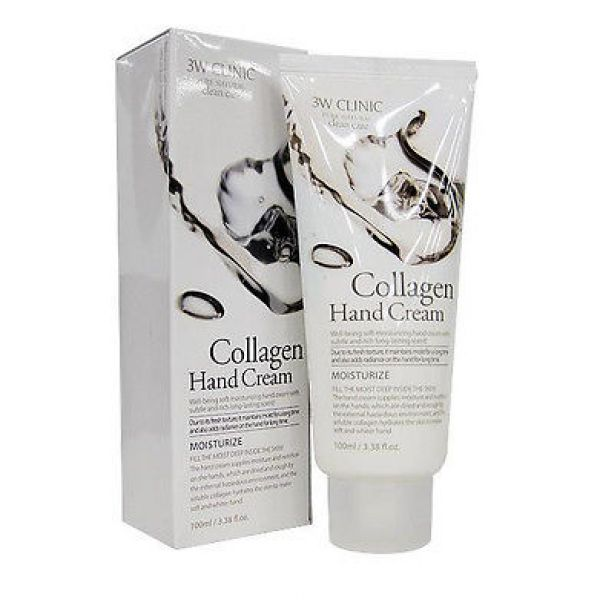 3W CLINIC Collagen hand cream 100мл