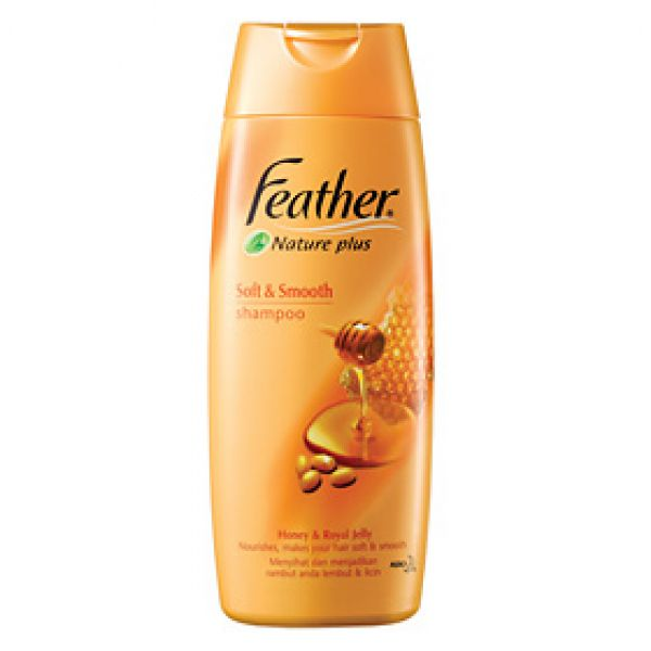 Feather Nature Plus Soft & Smooth Shampoo  380мл