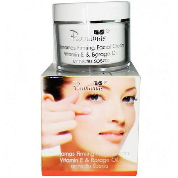 Pannamas Skin Firming Cream Vitamin E&Barage Oil 50мл