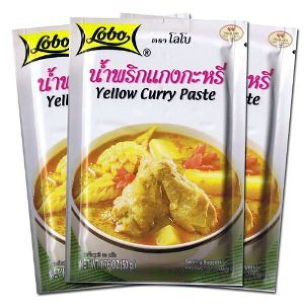 Lobo Thai Yellow Curry Paste 50г