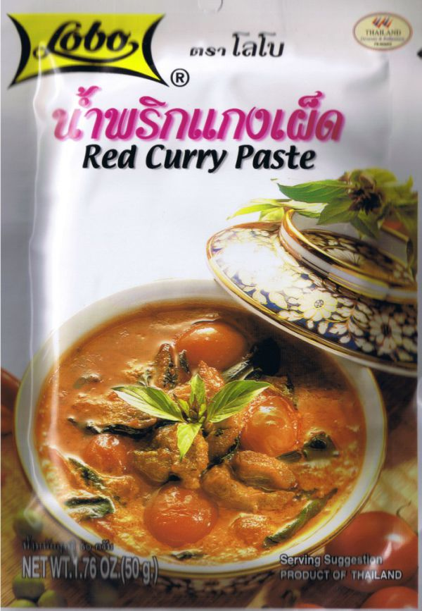 Lobo Red Curry Paste 50г