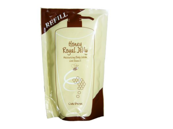 Cute Press Honey Body Lotion with Royal Jelly refill 500 ml