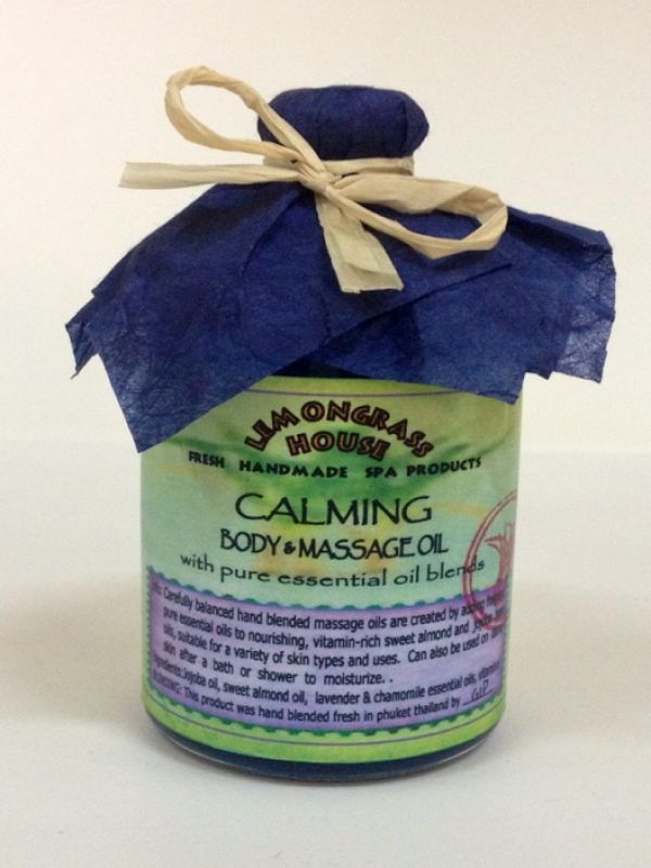 Lemongrass House  Calming body  Massage Oil 120 мл