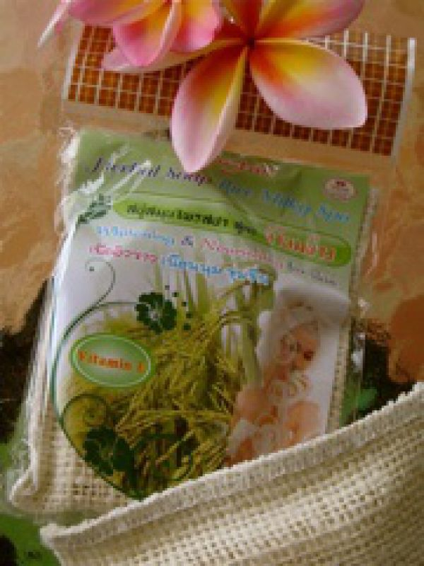 Rasyan Herbal Soap Rice Milky Spa