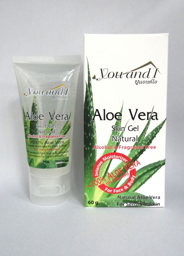 You & I Aloe Vera Skin Gel Natural for Face 60g