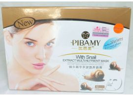 Pibamy with snail extrack multi nutrient Mask