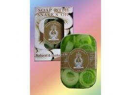 Soap with Snakes Oil and Green Tea 120г
