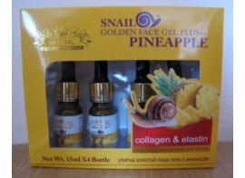 Naturе Repablic Snail Golden Face Gel Plus Pineapple 60мл