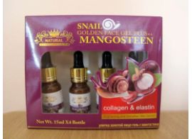 Naturе Repablic Snail Golden Face Gel Plus Mangosteen 60мл