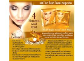 Facy White Bright Gold Tissue Mask