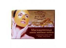 Darawadee Gold Face Mask with Pearl Collagen  100мл