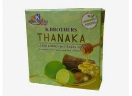 K.Brothers Thanaka Lemon &Honey Soap 60г