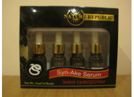 Nature Republic Syn –Ake Serum 4шт