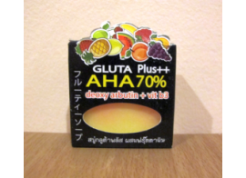 Beauty White Gluta Plus AHA Soap 65г