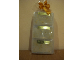 Collagen Gold Caviar Facial Soap 50г *3шт