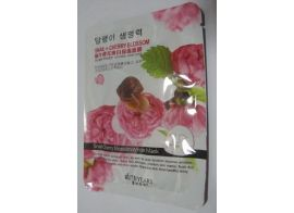 Ruth Years Snail + Cherry Blossom White Mask