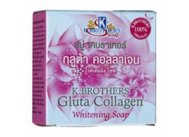 K.Brothers Gluta Collagen Whitening Soap 60g