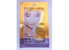 Facy Gold Pearl Whitening Facial Scrub 10г