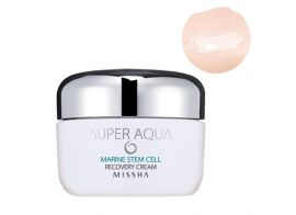 Missha Super Aqua Marine Stem Cell Recovery Cream 50г