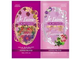 Kose Cosmeport Je l 'aime Amino Shampoo & Treatment Extra Moist set 20мл