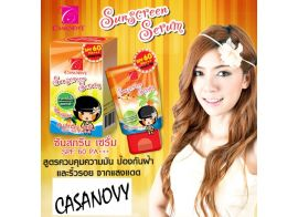 Casanovy Sunscreen Serum SPF 60 PA+++ 10мл