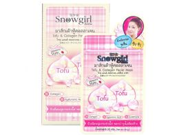 Snowgirl Tofu & Collagen Facial Mask 20г