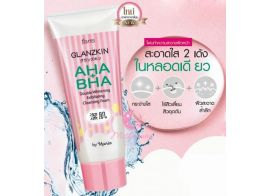 Faris Glanzkin AHA + BHA Double Whitening Exfoliating Cleansing Foam 80г