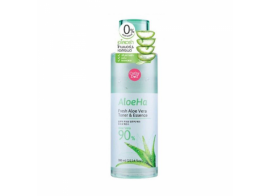 Cathy Doll Aloe Ha Fresh Aloe Vera Toner & Essence 300мл
