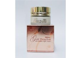 Mistine Gold Proactive anti-wrinkle night cream 30г