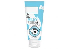 Milky Charcoal Detoxifying Facial Foam 190мл