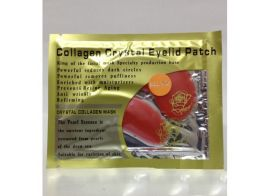 Collagen Crystal Red Wine Eyelid Patch 10шт