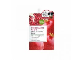 Baby Bright Pomegranate Co-Q10 Snail Sleeping Mask 10г