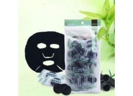 Bamboo Charcoal Compressed Facial Mask Sheets 1шт