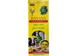 Thai Kinaree Banana Milk & Honey Peel-off Face Mask 120г