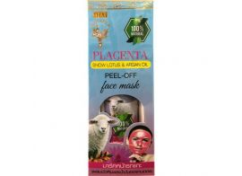 Thai Kinaree Placenta Snow Lotus & Argan Oil Peel-off Face Mask 120г