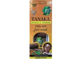 Thai Kinaree Tanaka Ginseng & Turmeric Peel-off Face Mask 120г
