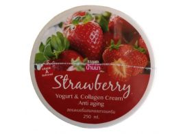 Banna Strawberry Yogurt & Collagen Cream 250мл