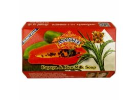 Asantee Papaya and Rice Milk Soap 125г