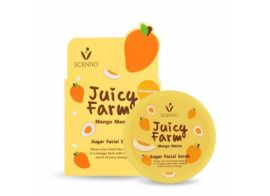 Scentio Juicy Farm Mango Mania Sugar Facial Scrub 100г