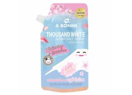 A Bonne Thousand White Sugar Salt Scrub Rose & Sakura 350г
