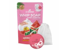 A Bonne Whip Soap Super Hydrating Watermelon & Vit E 100г