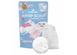 A Bonne Whip Soap Thousand White Rose & Sakura 100г