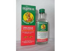 The Kangaroo Brand Double Distilled oil of Eucalyptus