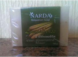 Narda Lemongrass & Citronella Soap 100g