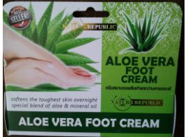 Aloe vera foot cream 80 ml